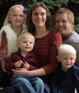 Dr. Jessica Johnson and Family