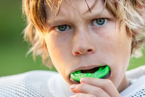 football mouthguard