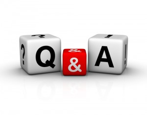 q and a dice