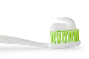 toothbrush green bristles