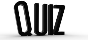 quiz black letters