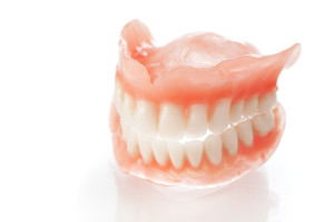 dentures close up